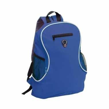 Goedkope backpack blauw rugtas rugzak