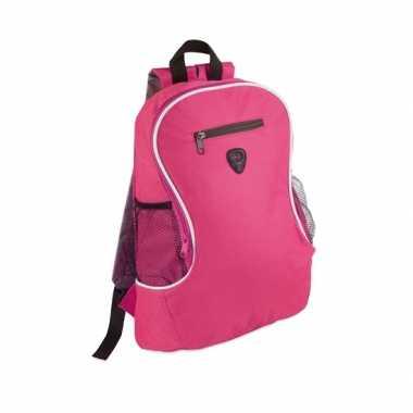 Goedkope  Backpack fuchsia roze rugzak
