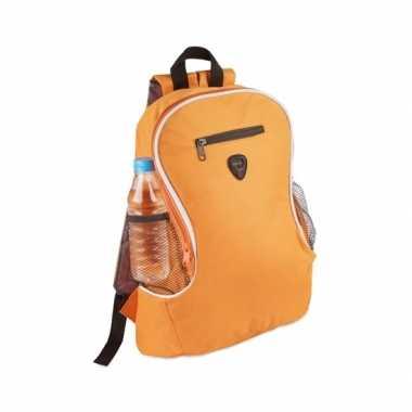 Goedkope backpack oranje rugtas rugzak