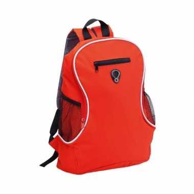 Goedkope  Backpack rood rugzak