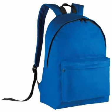 Goedkope  Blauwe gymtas rugzak voor kids 38 cm