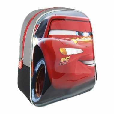 Goedkope cars lightning mcqueen 3d gymtas voor kinderen rugzak