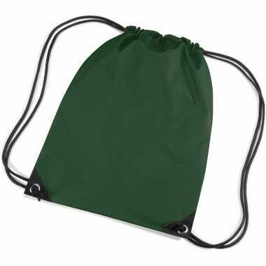 Goedkope  Donkergroene tasjes voor kids rugzak