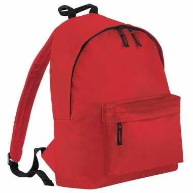 Goedkope fel rood gymtas rugzak voor kinderen