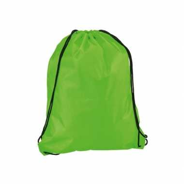 Goedkope  Gymtasje in neon groen rugzak