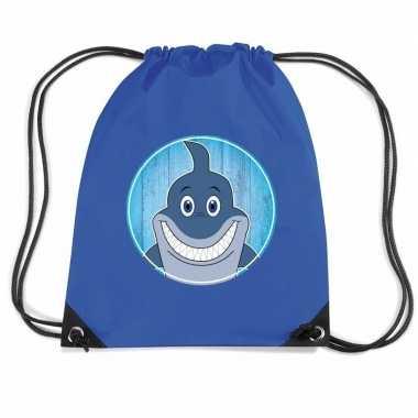 Goedkope haaien rugtas / gymtas voor kinderen rugzak