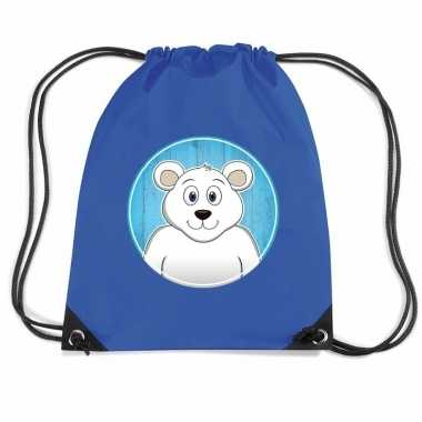 Goedkope ijsberen rugtas gymtas voor kinderen rugzak