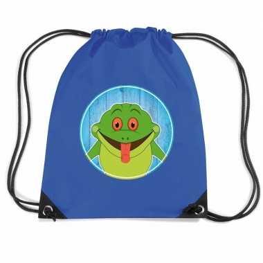 Goedkope kikkers rugtas / gymtas voor kinderen rugzak