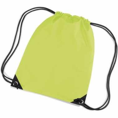 Goedkope  Lime groene tasjes voor kinderen rugzak