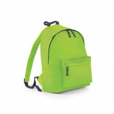 Goedkope  Lime gymtas rugzak voor kinderen