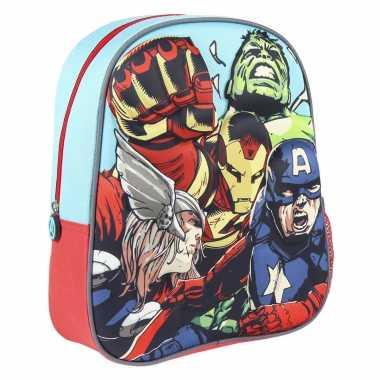 Goedkope marvel the avengers school rugtas/rugzak voor peuters/kleuters/kinderen