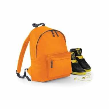 Goedkope  Oranje gymtas rugzak voor kinderen