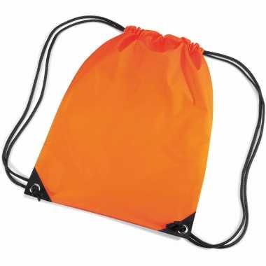 Goedkope  Oranje gymtas waterafstotend rugzak
