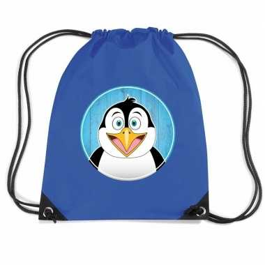 Goedkope pinguins rugtas / gymtas voor kinderen rugzak