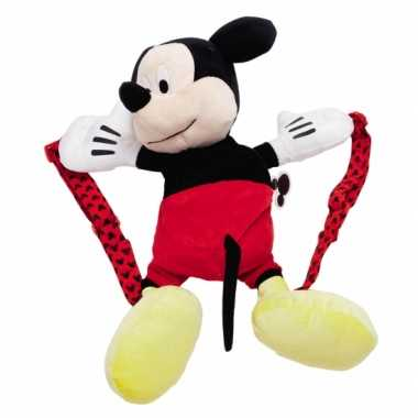 Goedkope  Pluche Mickey Mouse rugzak