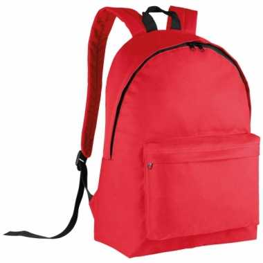 Goedkope  Rode gymtas rugzak voor kids 38 cm