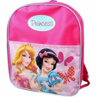 Goedkope roze disney princess gymtassen doornroosje en sneeuwwitje ru