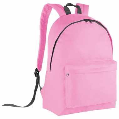 Goedkope  Roze gymtas rugzak voor kids 38 cm
