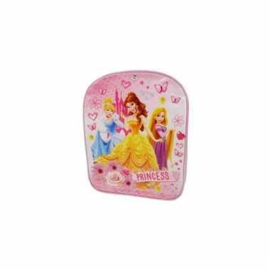 Goedkope roze princess rugzak 30 cm