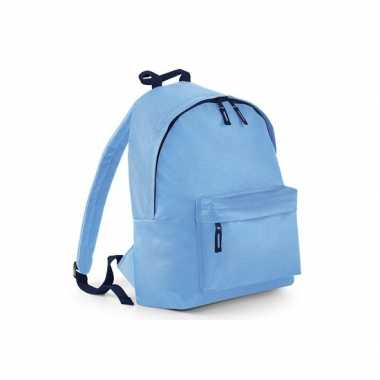 Goedkope  Rugtas blauw met18 liter inhoud rugzak