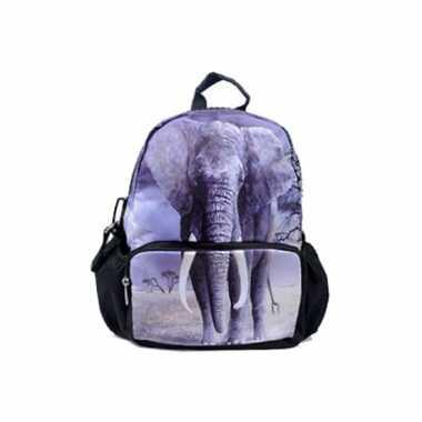 58129215aa2 Goedkope Rugtas met print van olifant 32 cm rugzak   Goedkope ...