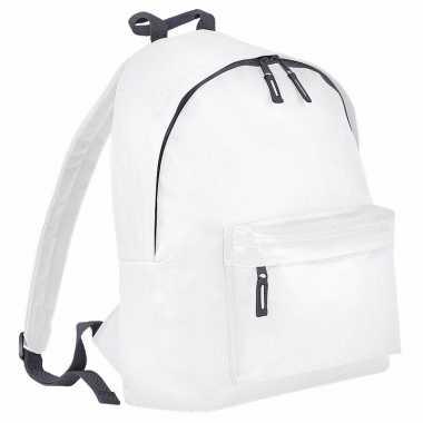 Goedkope wit / grijs gymtas rugzak voor kinderen