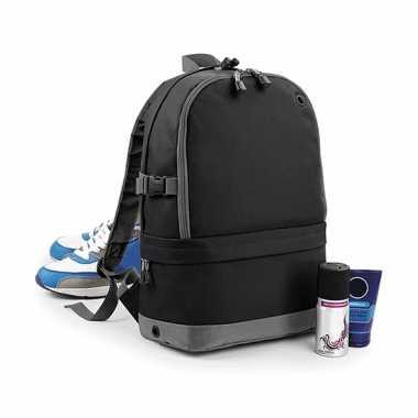 Goedkope zwarte backpack 18 liter rugzak