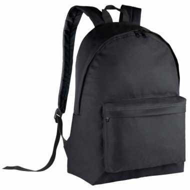 Goedkope  Zwarte gymtas rugzak voor kids 38 cm