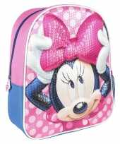 Goedkope disney minnie mouse pailletten school rugtas rugzak voor peuters kleuters kinderen