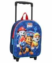 Goedkope paw patrol handbagage reiskoffer trolley 32 cm voor kinderen rugzak