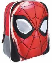 Goedkope rood grijzemarvel spiderman rugzakken rugtassen 25 x 31 cm reistas voor jongens kinderen