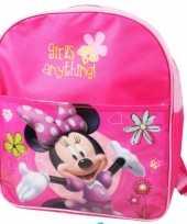 Goedkope roze minnie mouse tas voor meiden rugzak